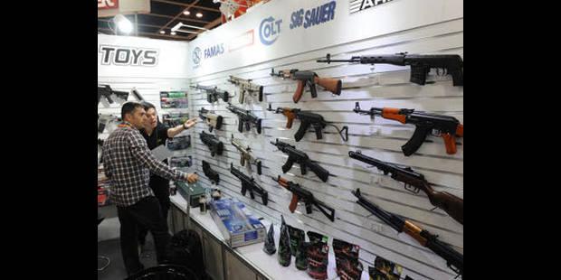 Hausse des exportations d'armes en Flandre - La DH