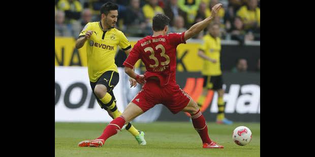 Bundesliga: Dortmund et le Bayern dos à dos - La DH