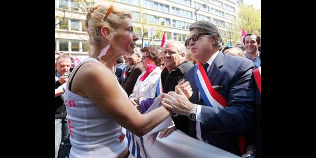 Manifestation anti-mariage gay à Paris: entre 45.000 et 270.000 participants - La DH