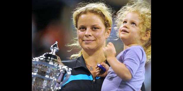 Kim Clijsters à nouveau enceinte - La DH
