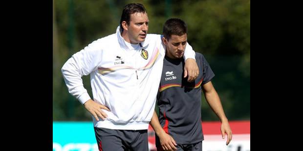 Hazard: ?En équipe nationale,  je suis le même qu'en club? - La DH