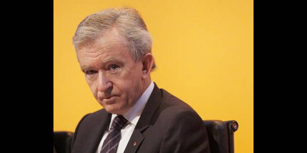 Arnault en Belgique : largesses fiscales et succession - La DH