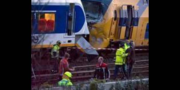Une erreur humaine responsable de la collision de trains à Amsterdam - La DH