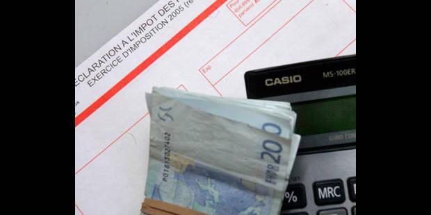 Le fisc remplira lui-même 1,5 million de déclarations d'impôts - La DH