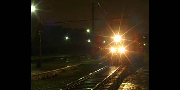 Environ 60 accompagnateurs de train mènent une action à Vilvorde contre les agressions - La DH