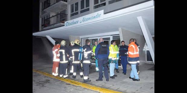 Immeuble évacué - La DH