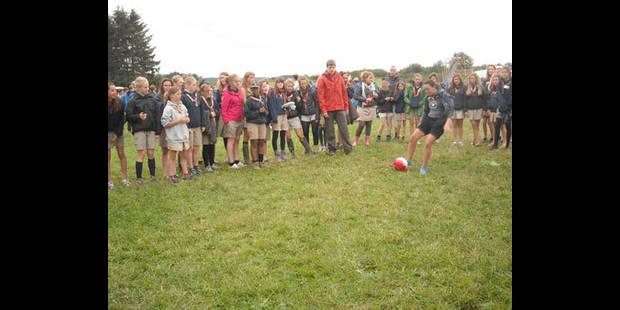 Plus de 2.000 jeunes à Woodscout - La DH