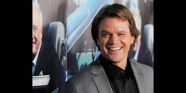 Matt Damon a hâte d'embrasser? Michael Douglas! - La DH