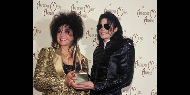 Liz Taylor enterrée dans le même cimetière que Michael Jackson - La DH