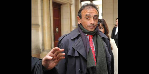 Eric Zemmour condamné pour provocation à la haine raciale - La DH