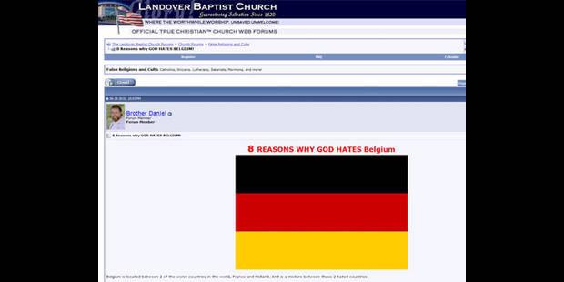 8 raisons pour lesquelles Dieu hait la Belgique - La DH