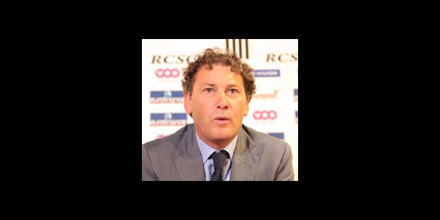 Jacky Mathijssen cherche 4 joueurs pour son Sporting de Charleroi - La DH