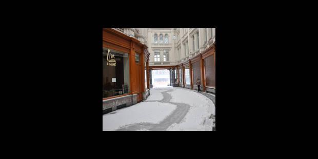 Passage de la Bourse enneigé - La DH