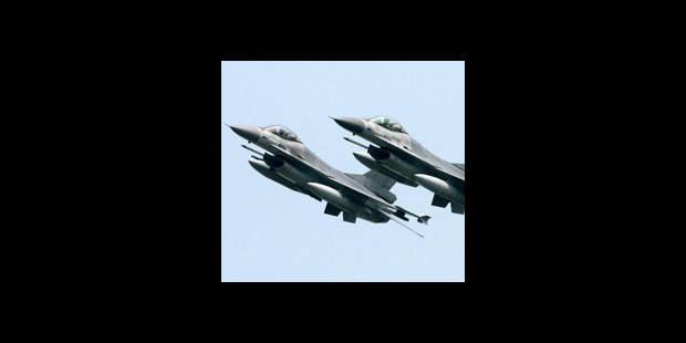 Afghanistan: les F16 belges ont à nouveau fait feu - La DH