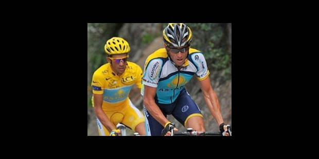 "Bruyneel: il y a une ""incompatibilité"" entre Armstrong et Contador - La DH"