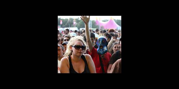 Plus de 140.000 personnes au festival de Dour - La DH