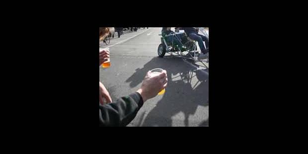 33 comas éthyliques au 24h vélo de Louvain-La-Neuve - La DH