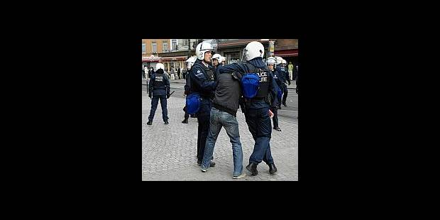 Anderlecht: 114 arrestations, dont sept judiciaires - La DH
