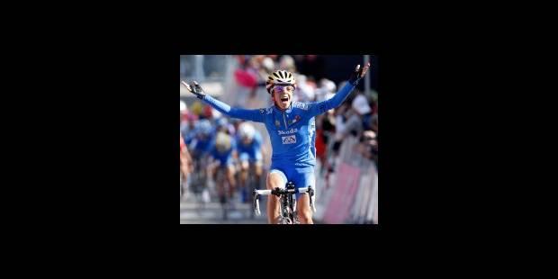 Championnats du monde de cyclisme: l'Italienne Bastianelli s'impose - La DH