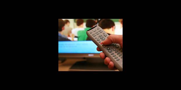 Près de 4 heures de TV par jour ! - La DH