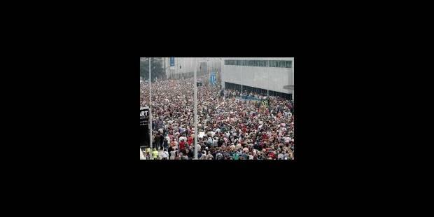 80.000 personnes ont marché pour Joe - La DH