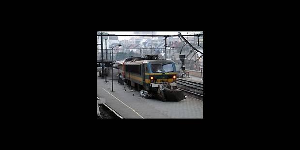 Train fantôme sur les quais - La DH