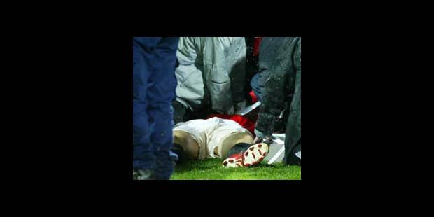 Mort en plein match de foot - La DH