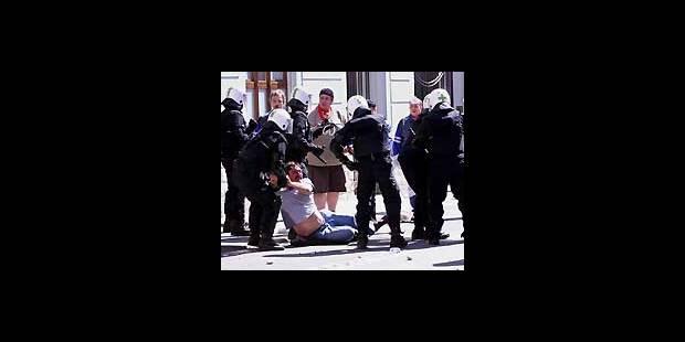 Manifestation des sidérurgistes: castagne avec la police luxembourgeoise - La DH
