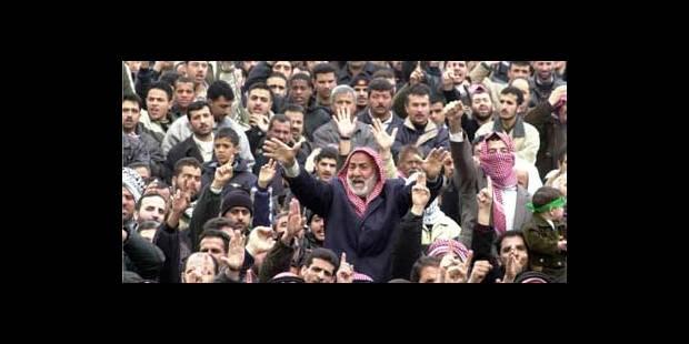 Des centaines de milliers de manifestants contre la guerre - La DH
