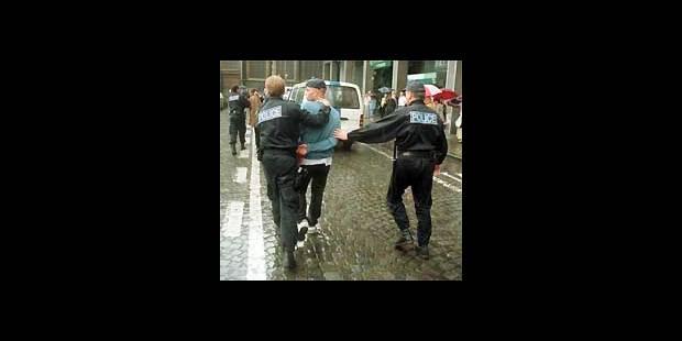 Hooligans à Sclessin - La DH