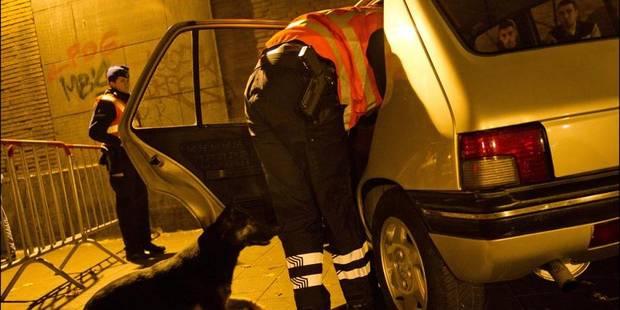 Trois mineurs foncent sur les policiers - La DH