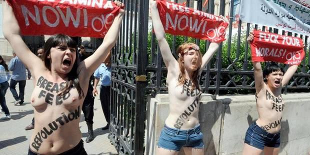 Tunisie: les trois Femen libérées sont rentrées en France - La DH