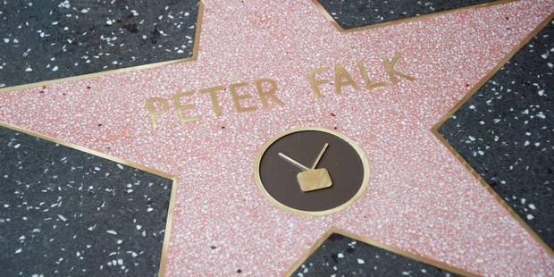 Peter Falk, alias Columbo, a son étoile à Hollywood - La DH