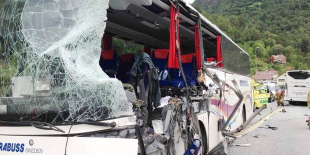Collision entre des cars en Norvège: 2 morts, des blessés graves - La DH