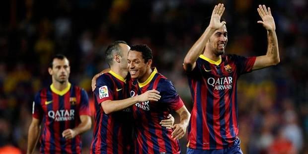 Liga: le Barça plombe la Real, le duo Messi-Neymar flambe - La DH
