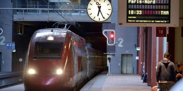 La circulation sur la ligne TGV Cologne-Bruxelles-Paris perturbée - La DH