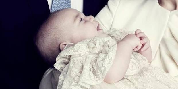 La photo officielle du baptême du prince Georges - La DH