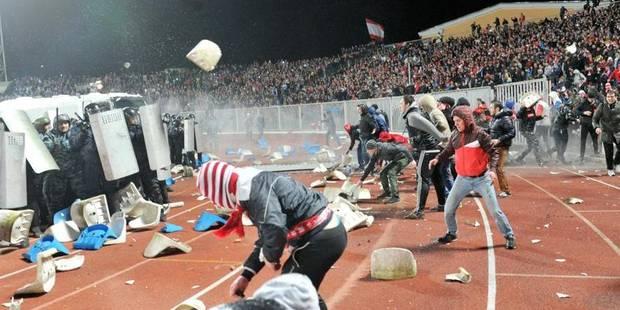 Des supporters du CSKA Moscou arrêtés à Copenhague - La DH