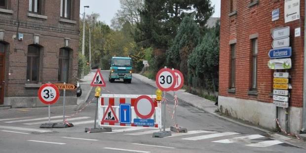 La rue de Florival interdite à toute circulation - La DH
