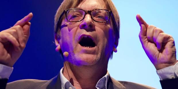 Verhofstadt candidat à la présidence de la Commission européenne - La DH