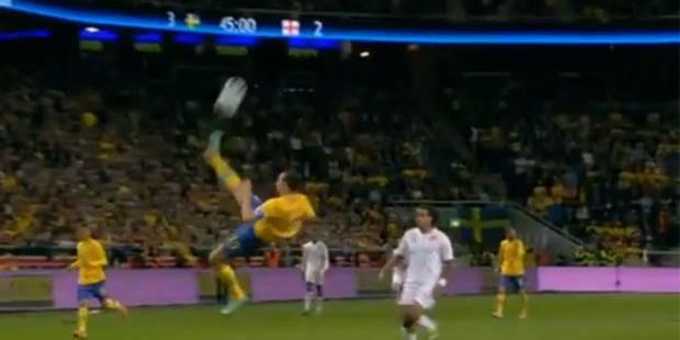 Ibrahimovic inscrit le plus beau but de l'année ! - La DH