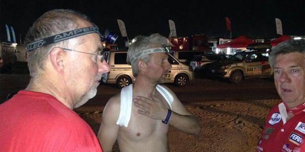 Encore un Belge qui abandonne au Dakar - La DH