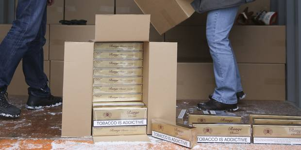18 millions de cigarettes de contrebande saisies à Péruwelz - La DH