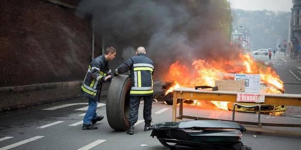 Un conciliateur pour mettre fin au conflit social chez les pompiers de Liège - La DH
