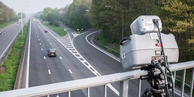 Près de 1.000 radars sur les routes belges - La DH