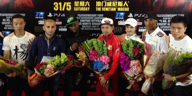 Miskirtchian reçoit du soutien à Macao - La DH