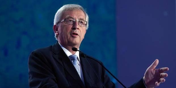 """Juncker """"fier et honoré"""" de présider la Commission européenne - La DH"""