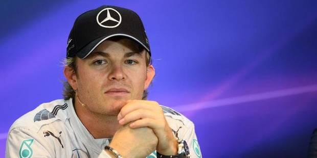 """Rosberg: """"Désolé, no comment"""" - La DH"""