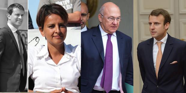 France : Vallaud-Belkacem à l'Education, Macron à l'Economie, Pellerin à la Culture - La DH