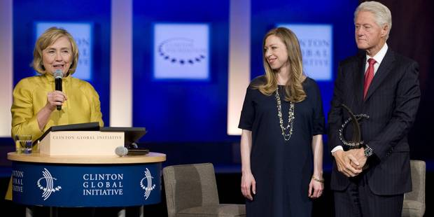 Chelsea Clinton a donné naissance à une fille - La DH